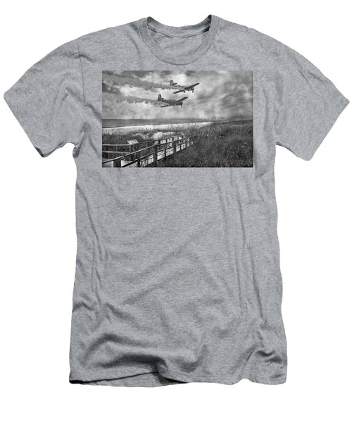 Fly Because You Love It Men's T-Shirt (Athletic Fit)