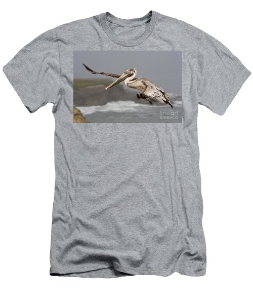 Flying Over La Jolla Men's T-Shirt (Athletic Fit)