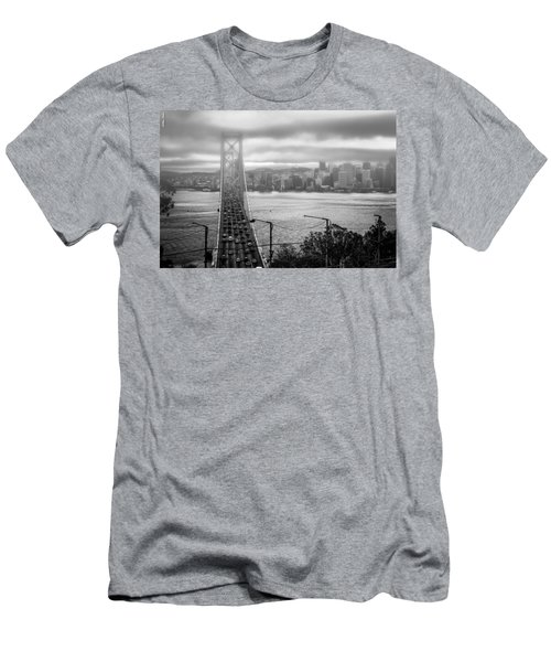 Foggy City Of San Francisco Men's T-Shirt (Athletic Fit)