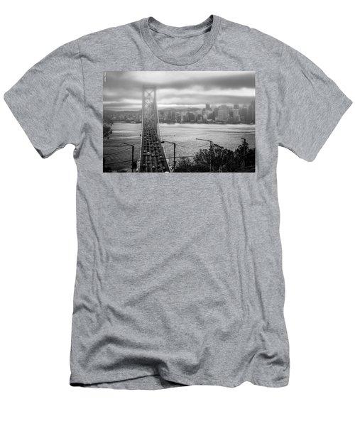 Foggy City Of San Francisco Men's T-Shirt (Athletic Fit)