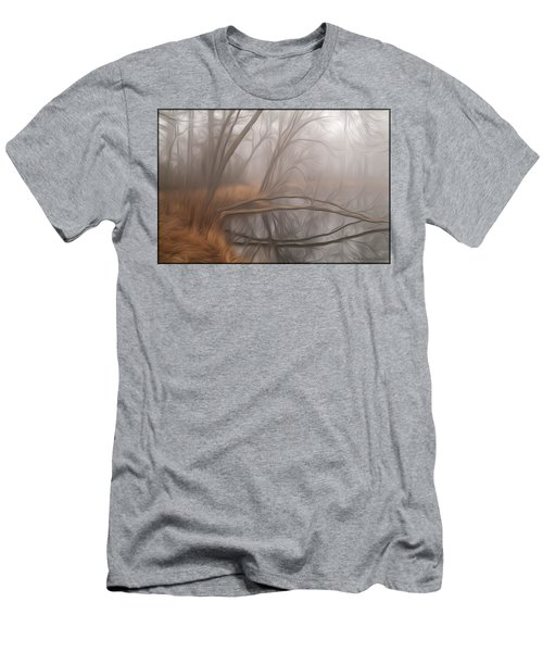 Foggy Fall Morning Men's T-Shirt (Athletic Fit)
