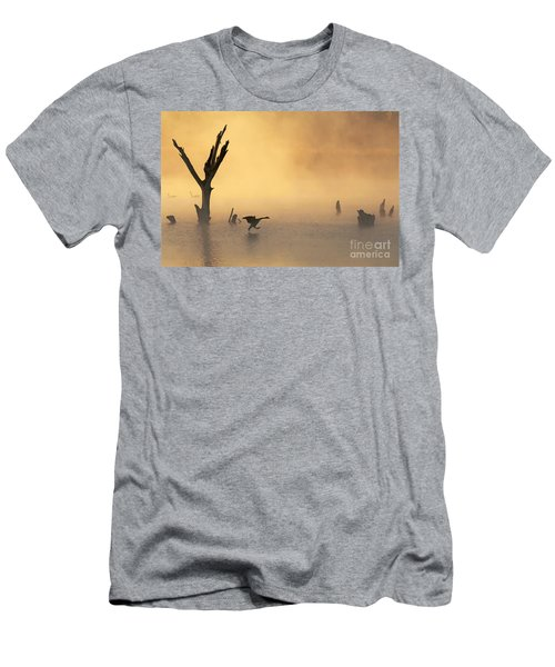 Foggy Landing Men's T-Shirt (Athletic Fit)