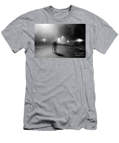 Foggy Night Men's T-Shirt (Athletic Fit)