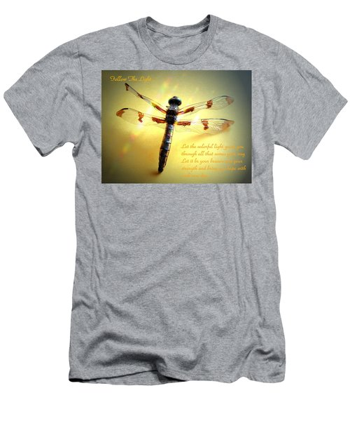 Follow The Light Men's T-Shirt (Athletic Fit)