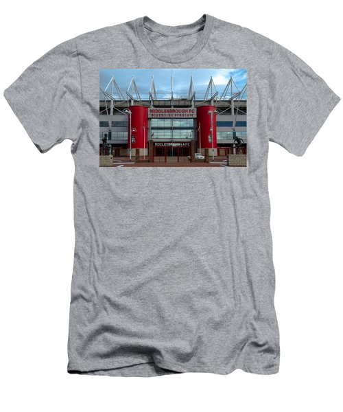 Football Stadium - Middlesbrough Men's T-Shirt (Athletic Fit)