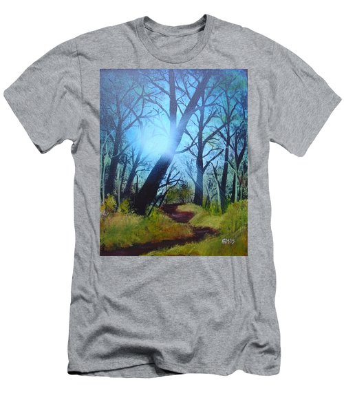 Forest Sunlight Men's T-Shirt (Athletic Fit)