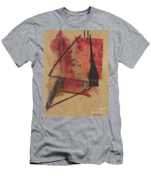 Men's T-Shirt (Slim Fit) featuring the painting Forgive My Tears by Mini Arora