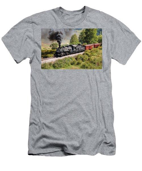 Four Percent Grade Part 1 Men's T-Shirt (Athletic Fit)
