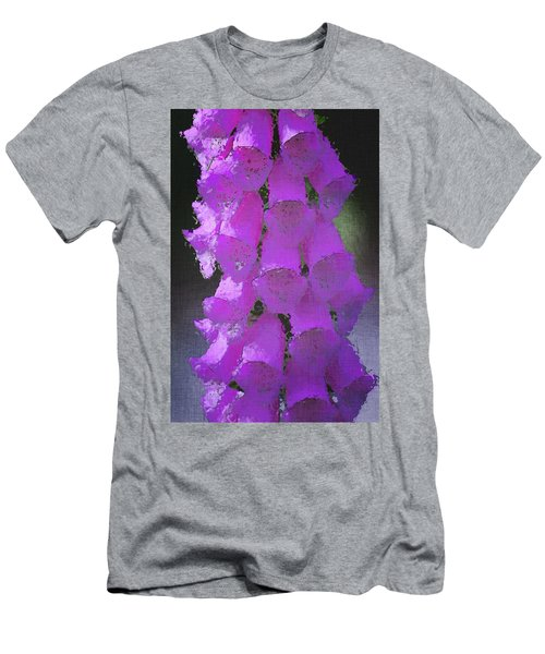 Foxgloves Men's T-Shirt (Athletic Fit)