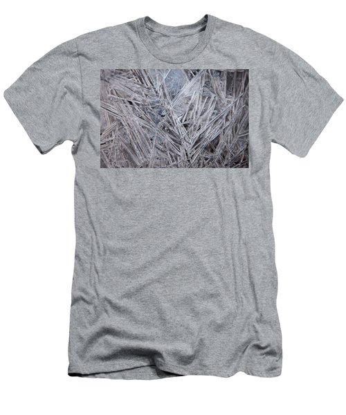 Frozen Fractal Men's T-Shirt (Athletic Fit)