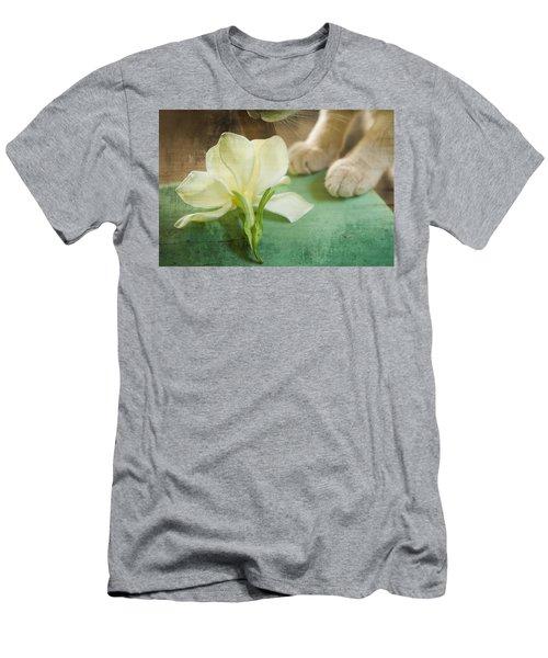 Fragrant Gardenia Men's T-Shirt (Athletic Fit)