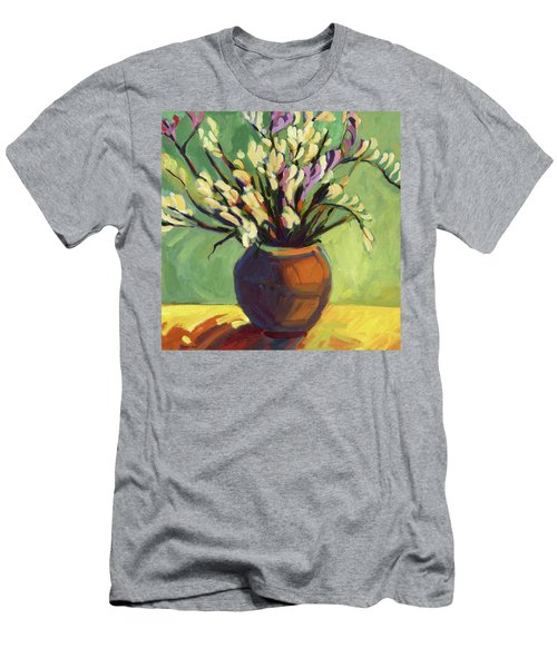 Freesias Men's T-Shirt (Athletic Fit)