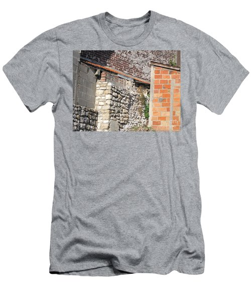 French Farm Wall Men's T-Shirt (Slim Fit) by HEVi FineArt