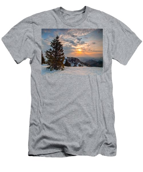 Fresh Morning Men's T-Shirt (Slim Fit) by Davorin Mance