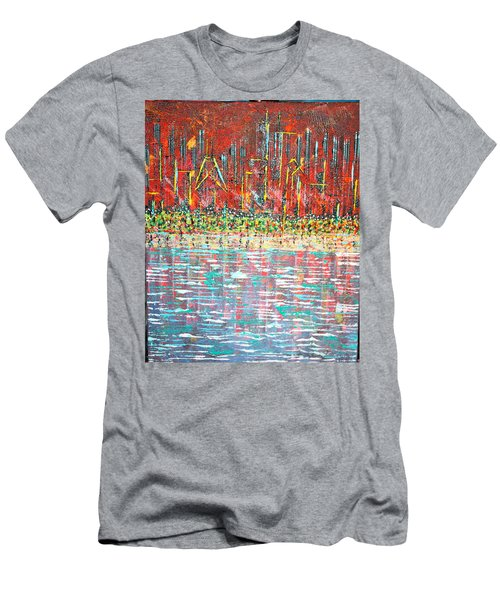 Friday At The Beach - Sold Men's T-Shirt (Slim Fit) by George Riney