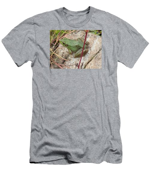 Frog Men's T-Shirt (Athletic Fit)