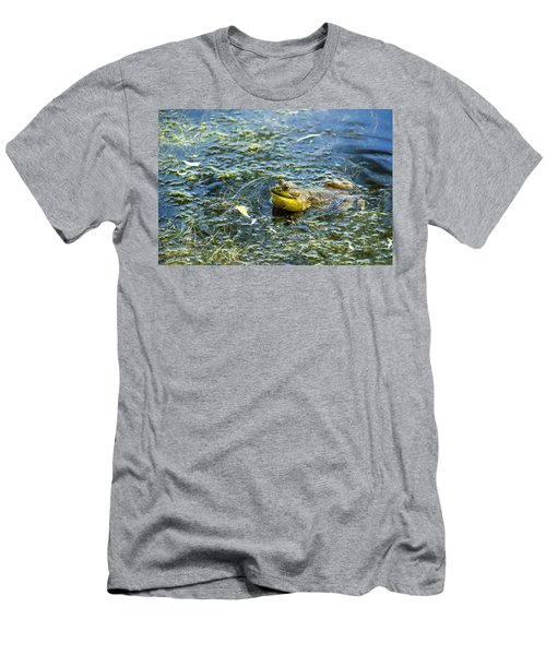 Frog Song Men's T-Shirt (Athletic Fit)