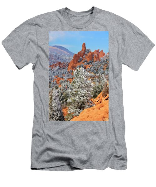 Frosted Wonderland 1 Men's T-Shirt (Athletic Fit)