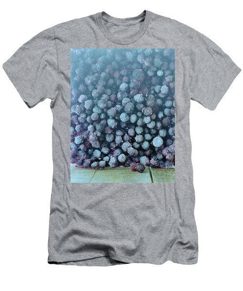 Frozen Blueberries Men's T-Shirt (Athletic Fit)