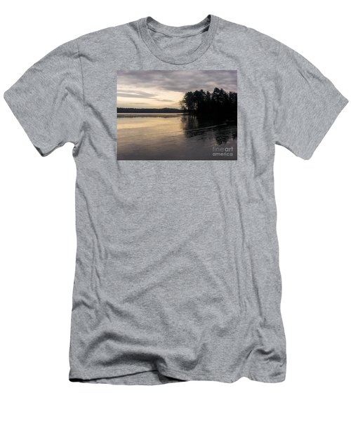 Frozen Lake Men's T-Shirt (Athletic Fit)