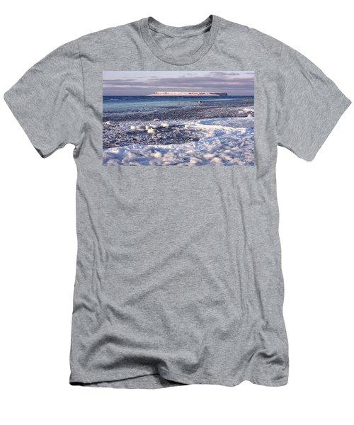 Frozen Shore Men's T-Shirt (Athletic Fit)