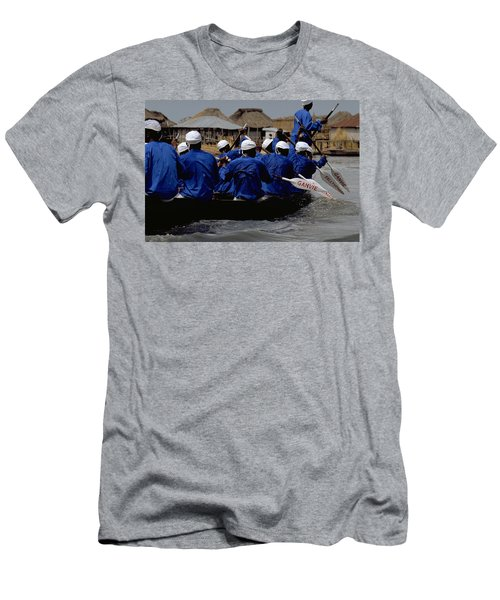 Ganvie - Lake Nokoue Men's T-Shirt (Athletic Fit)