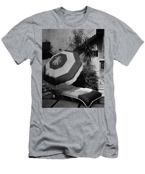 Garden Chaise Lounge Men's T-Shirt (Athletic Fit)