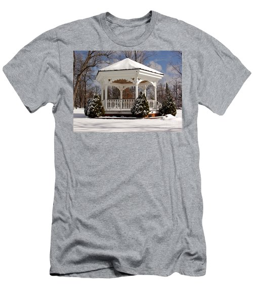 Gazebo At Olmsted Falls - 2 Men's T-Shirt (Athletic Fit)