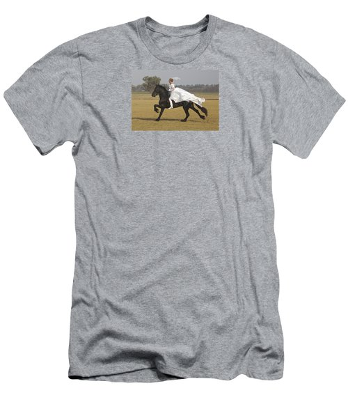 Get Me To The Church On Time Men's T-Shirt (Athletic Fit)