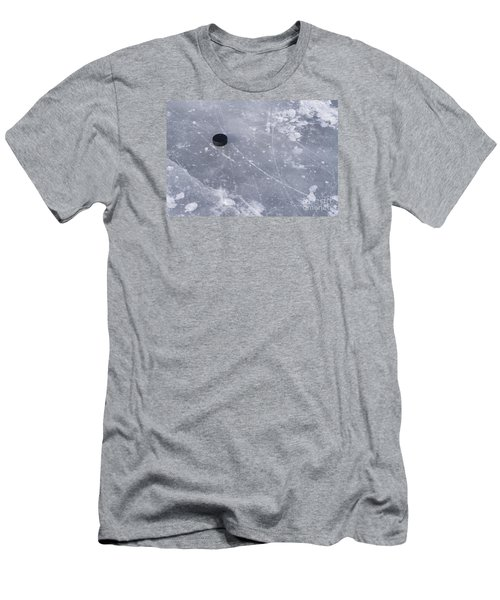 Get The Puck Outta Here Men's T-Shirt (Slim Fit) by Steven Ralser