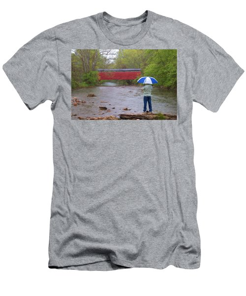 Getting The Shot Men's T-Shirt (Athletic Fit)