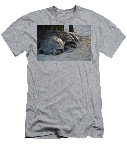 Men's T-Shirt (Slim Fit) featuring the photograph Giant Tortise by Robert Meanor