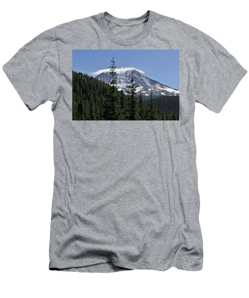 Gifford Pinchot National Forest And Mt. Adams Men's T-Shirt (Slim Fit) by Tikvah's Hope
