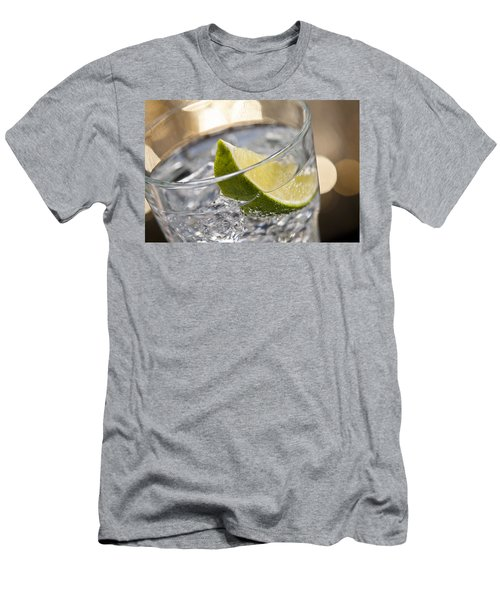 Gin Tonic Cocktail Men's T-Shirt (Athletic Fit)