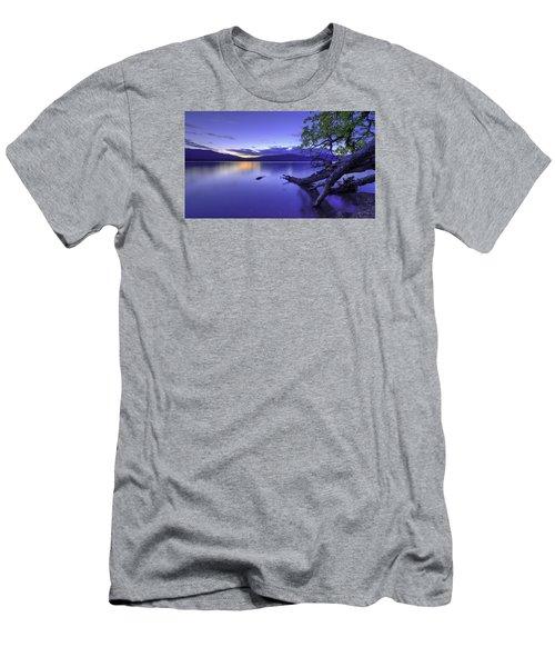 Glacier Blue Men's T-Shirt (Athletic Fit)