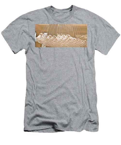 Glass Bubbles Men's T-Shirt (Athletic Fit)