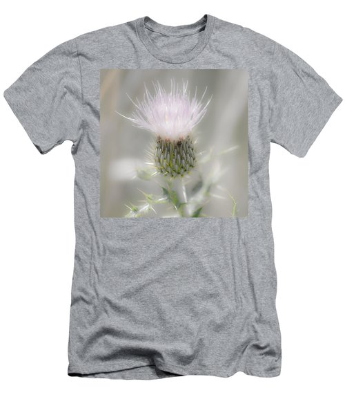 Glimmering Thistle Men's T-Shirt (Athletic Fit)