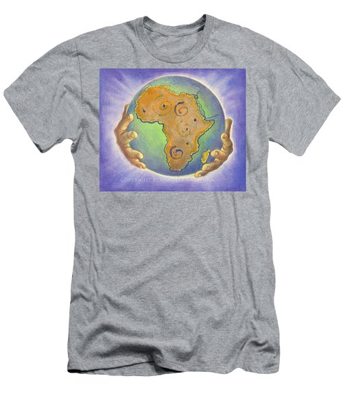 God Bless Africa Men's T-Shirt (Athletic Fit)