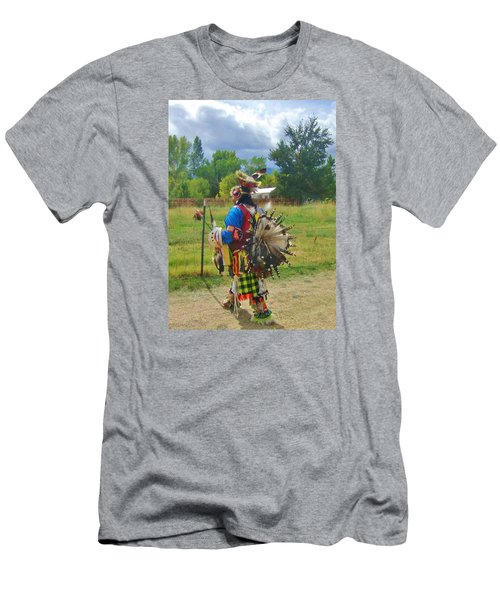 Men's T-Shirt (Slim Fit) featuring the photograph Going To The Pow Wow by Marilyn Diaz