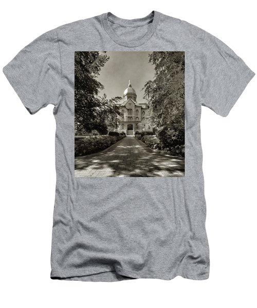Golden Dome At Notre Dame University Men's T-Shirt (Athletic Fit)