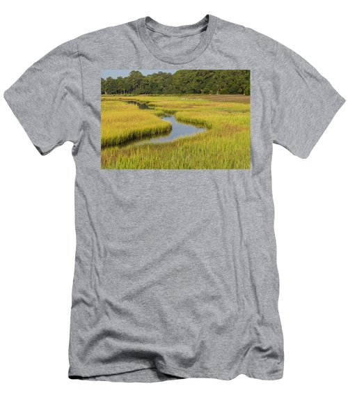 Golden Marsh Men's T-Shirt (Athletic Fit)