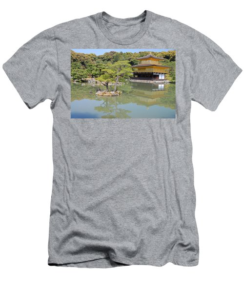 Golden Pavilion Men's T-Shirt (Athletic Fit)
