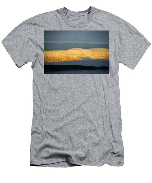 Golden Shores Men's T-Shirt (Athletic Fit)