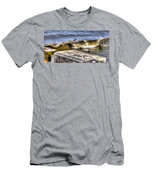Men's T-Shirt (Athletic Fit) featuring the photograph Gone In Seconds by Tyson Kinnison