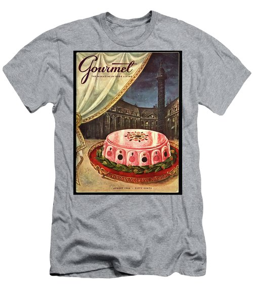 Gourmet Cover Featuring Ham Mousse Men's T-Shirt (Athletic Fit)