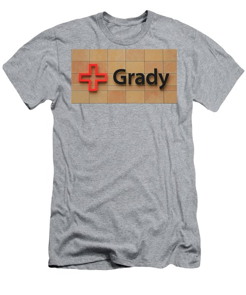 Grady Hospital Atlanta Georgia Art Men's T-Shirt (Athletic Fit)