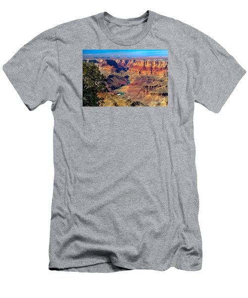 Grand Canyon Sunset Men's T-Shirt (Slim Fit) by Robert Bales