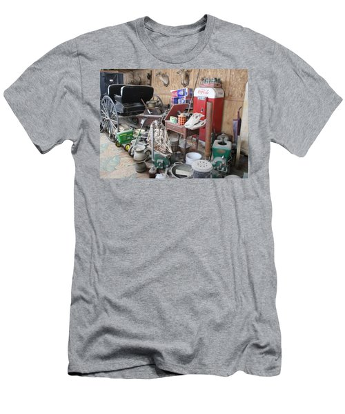 Grandpop's Garage Men's T-Shirt (Athletic Fit)