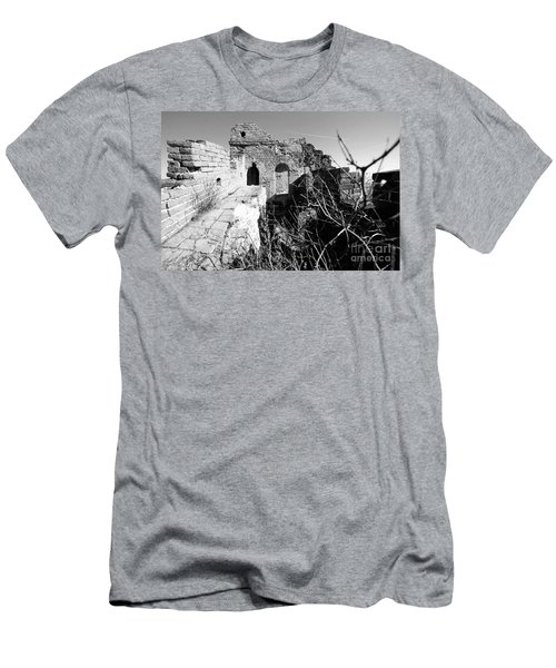 Great Wall Ruins Men's T-Shirt (Athletic Fit)