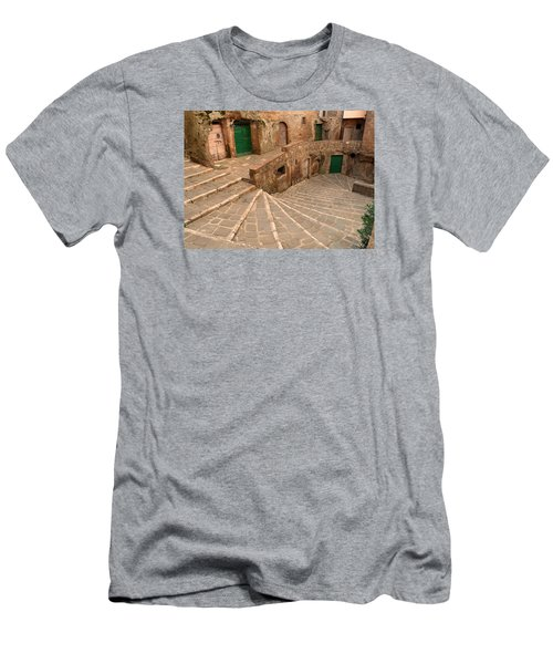 Green Doors Men's T-Shirt (Athletic Fit)